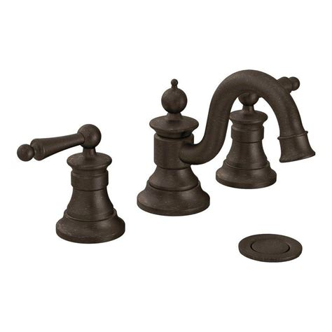 oil rubbed moen bathroom faucets oil rubbed bronze