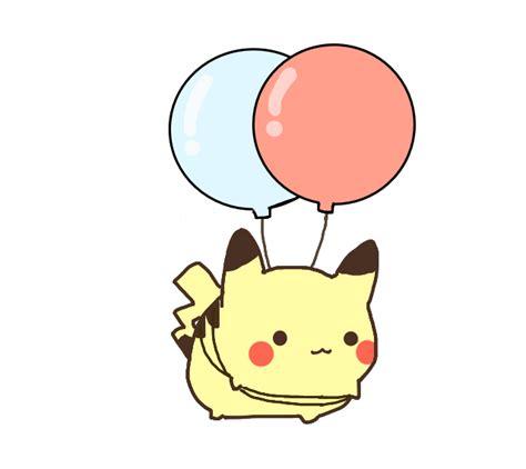 imagenes de intensamente kawaii cute kawaii pikachu ballon pokemon no