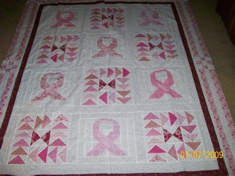 Pink Ribbon Quilt Pattern by Upon Request Pink Ribbon Quilt