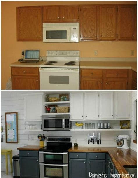 7 Amazing Inside Out Makeovers by Amazing Diy Kitchen Makeover Home Decorating Ideas