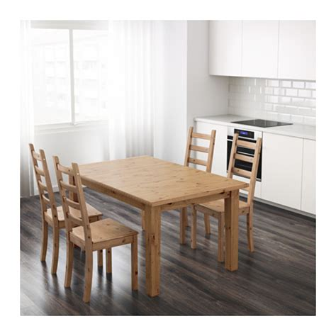 ikea stornas dining table storn 196 s extendable table antique stain 147 204x95 cm ikea