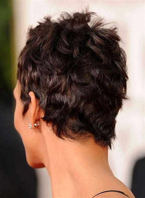 Back View Of Halle Berry Hair | halle berry pixie cuts short hairstyles 2017 2018