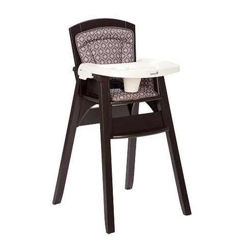 Safest High Chair by Safety 1st Decor Wood High Chair Casablanca Safety 1st