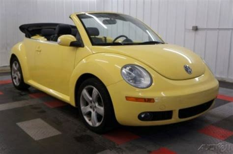 how petrol cars work 2007 volkswagen new beetle interior lighting find used 2007 volkswagen new beetle 2 5 nice convertible one owner gas saver wow in