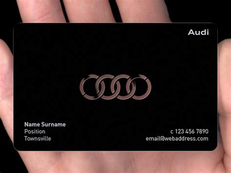 metal card black metal business cards plasmadesign