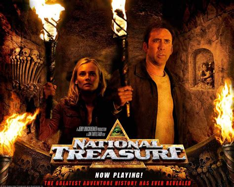 film nicolas cage complet complete classic movie national treasure 2004