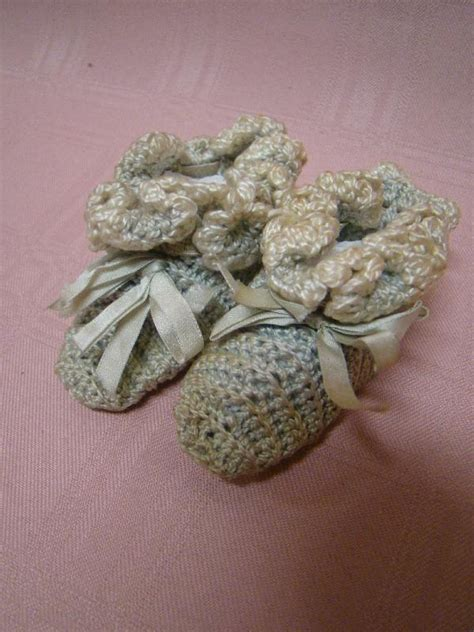 china doll slippers antique crochet slippers found on 1880 s china doll from