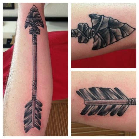 arrow tattoo ny tattoo pinterest