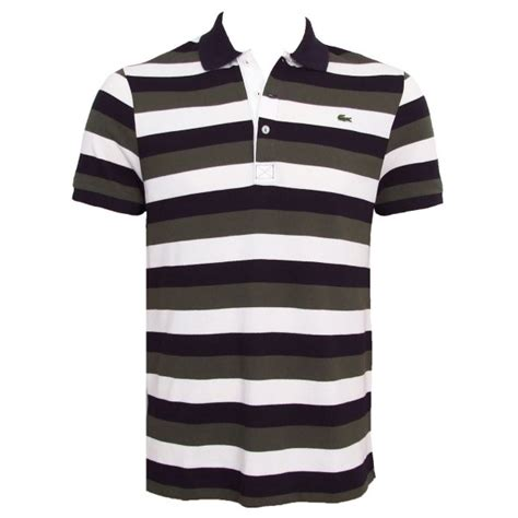 Poloshirt Stripe Navy lacoste polo shirt navy white stripe mens ph1409