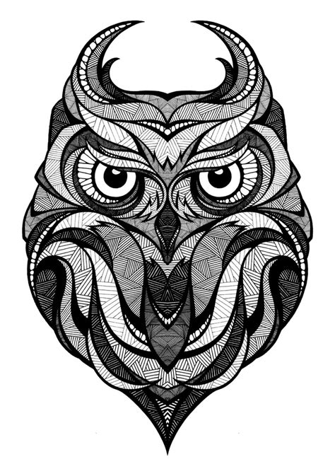 owl tattoo png looove it s expression like the owl is saying quot dontcha