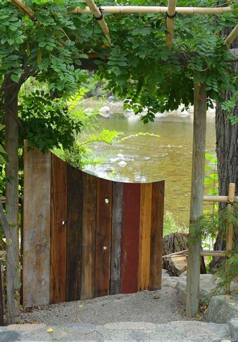 cancelletto per giardino cancelli in legno da giardino piccoli trucchi di bricolage