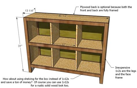 Storage Shelf Plans Free by Woodworking Diy Storage Cube Shelves Plans Pdf