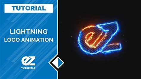 tutorial after effects logo animation how to create a lightning logo animation after effects