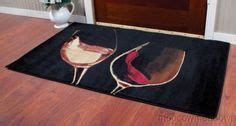 geranium rug for kitchen 50s vintage metal kitchen canisters pink details about red white wine glass with vine and grapes