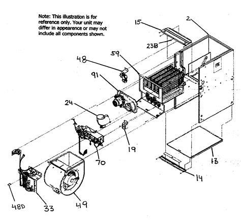 furnace parts diagram carrier furnace parts model 58cvx15510022 sears