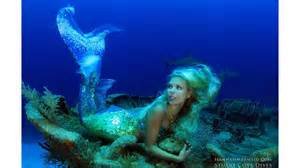 Real life mermaid devotes her lifestyle to saving deadly sharks and