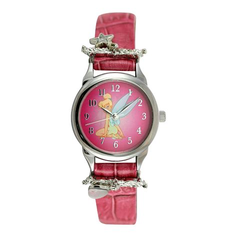 disney tinker bell pink with charms jewelry