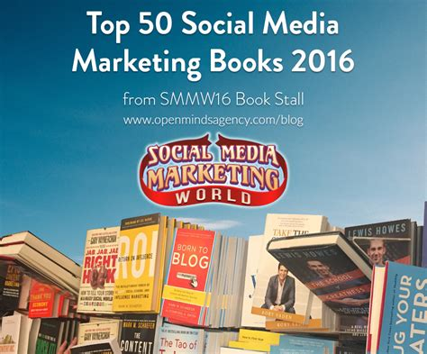 social media marketing books top 50 social media marketing books 2016 from smmw16 book