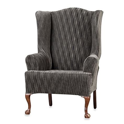 queen anne chair slipcover queen anne wingback chair slipcovers