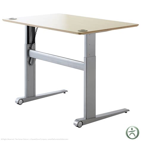 Shop Conset 501 17 Laminate Electric Sit Stand Desk Stand Or Sit Desk