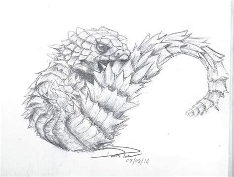 armadillo lizard coloring page diamond animation