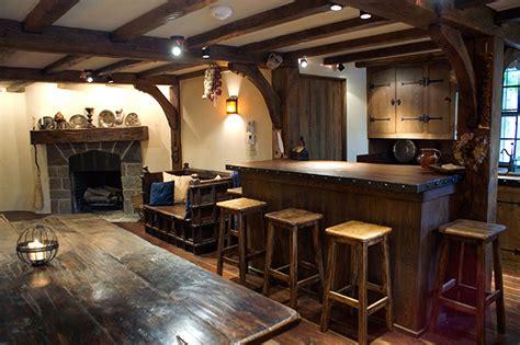simple basement bar home bar