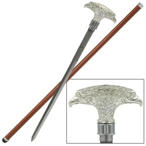 sword walking canes american eagle walking sword