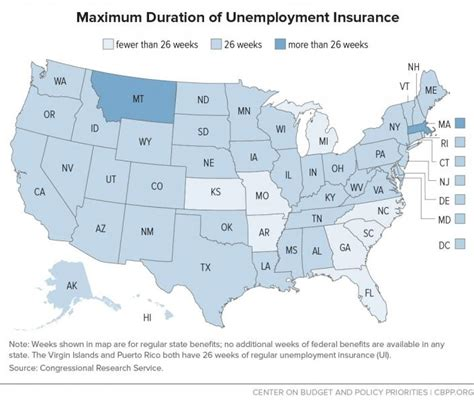 maximum weeks of ui benefits by state aboutunemployment org