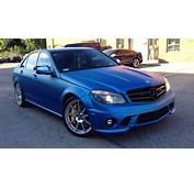 C63 AMG In Matte Metallic Blue Looks Frozen  Autoevolution