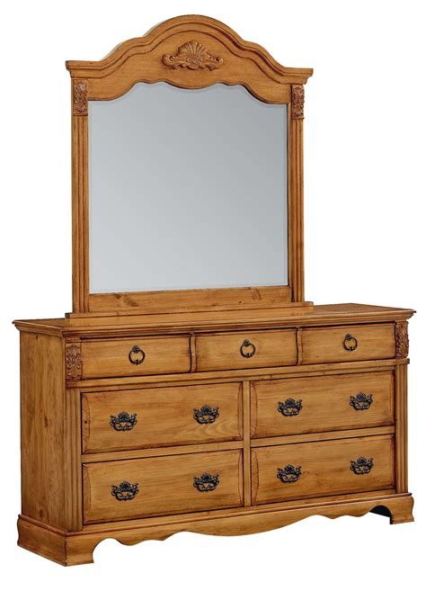 georgetown golden honey pine poster bedroom set from