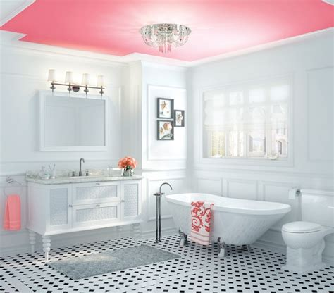 painted ceilings in bathrooms look up statement ceilings