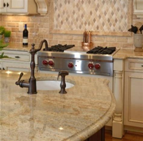 Stacked Stone Kitchen Backsplash granite countertops