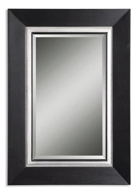 Black Vanity With Mirror uttermost whitmore black vanity mirror 14153 b