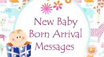 new baby arrival quotes quotesgram