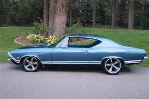 1968 chevrolet chevelle malibu custom 2 door hardtop 138099