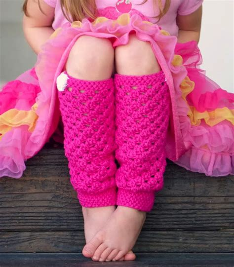 pink pattern leg warmers link party whimsy wednesday dec 3