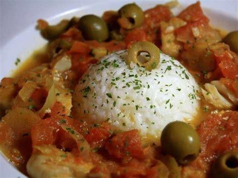 cuisiner filet de colin recettes de colin et olive