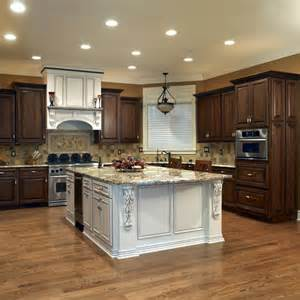 Black Distressed Kitchen Island Shiloh Cabinets