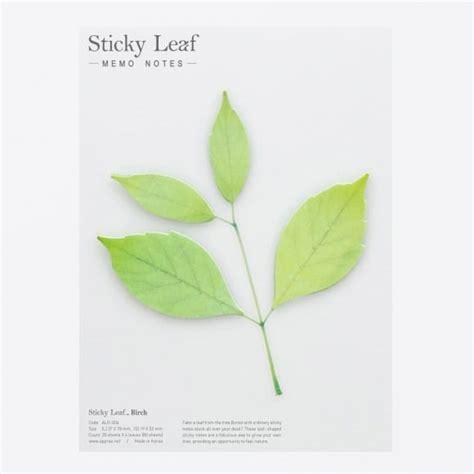 Leaf Sticky Note S sticky leaf pa design