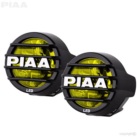 piaa lp530 ion yellow 3 5 quot led driving light kit 22 05372