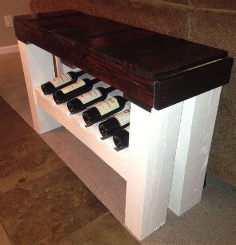 sofa table wine rack wood pallet wood pallet