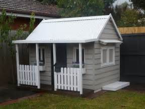 Diy Playhouse Plans by The Flagstaff Timber Cubby House Cubby Central