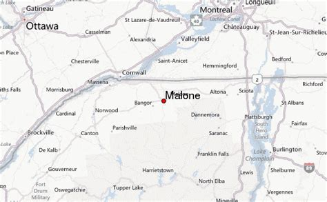 malone ny map malone location guide
