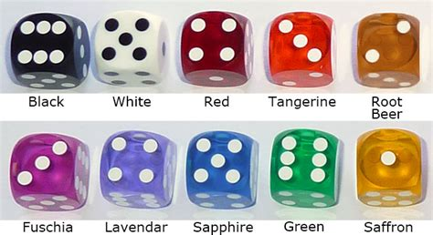 color dice backgammon elegance novadice certified precision dice