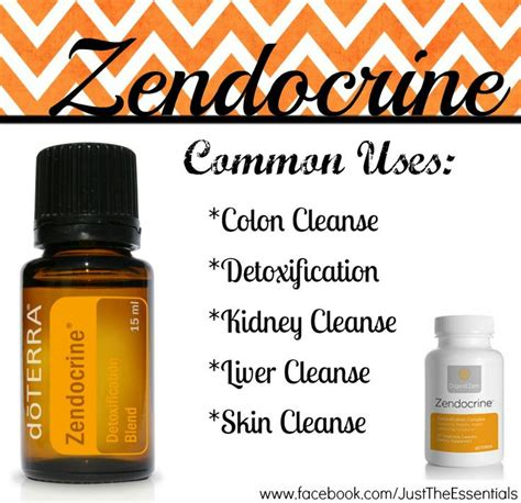 Doterra Essential Oils For Liver Detox by 31 Best Images About Essential Zendocrine Blend On