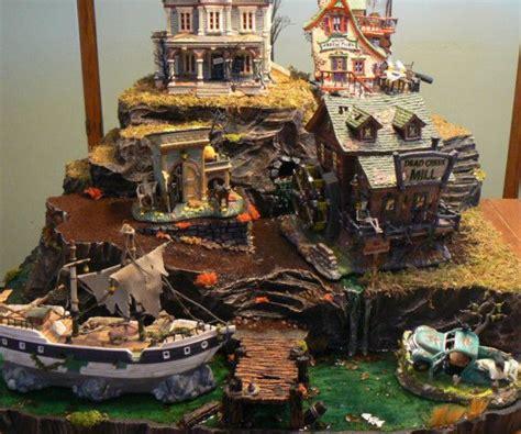 miniature mountain village platform 18 best diy department 56 ideas images on town