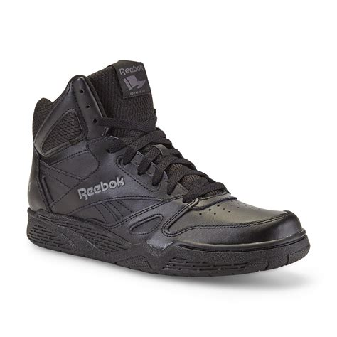 black high top basketball shoes reebok s royal bb4500 leather high top basketball shoe