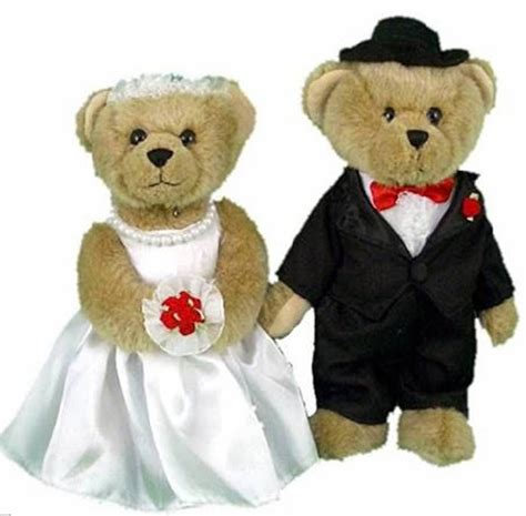 wedding bears wedding bears and groom store gt bridal gt ring