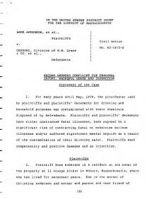 Trial Brief Template by Complaint