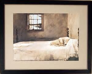 Wyeth Master Bedroom Big Master Bedroom Dog On Bed By Andrew Wyeth Framed Art